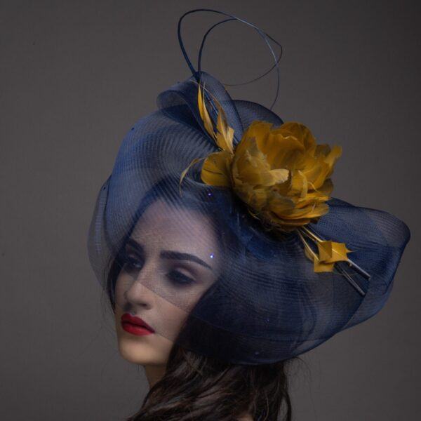 Heart of Gold by Gemma Holley Millinery