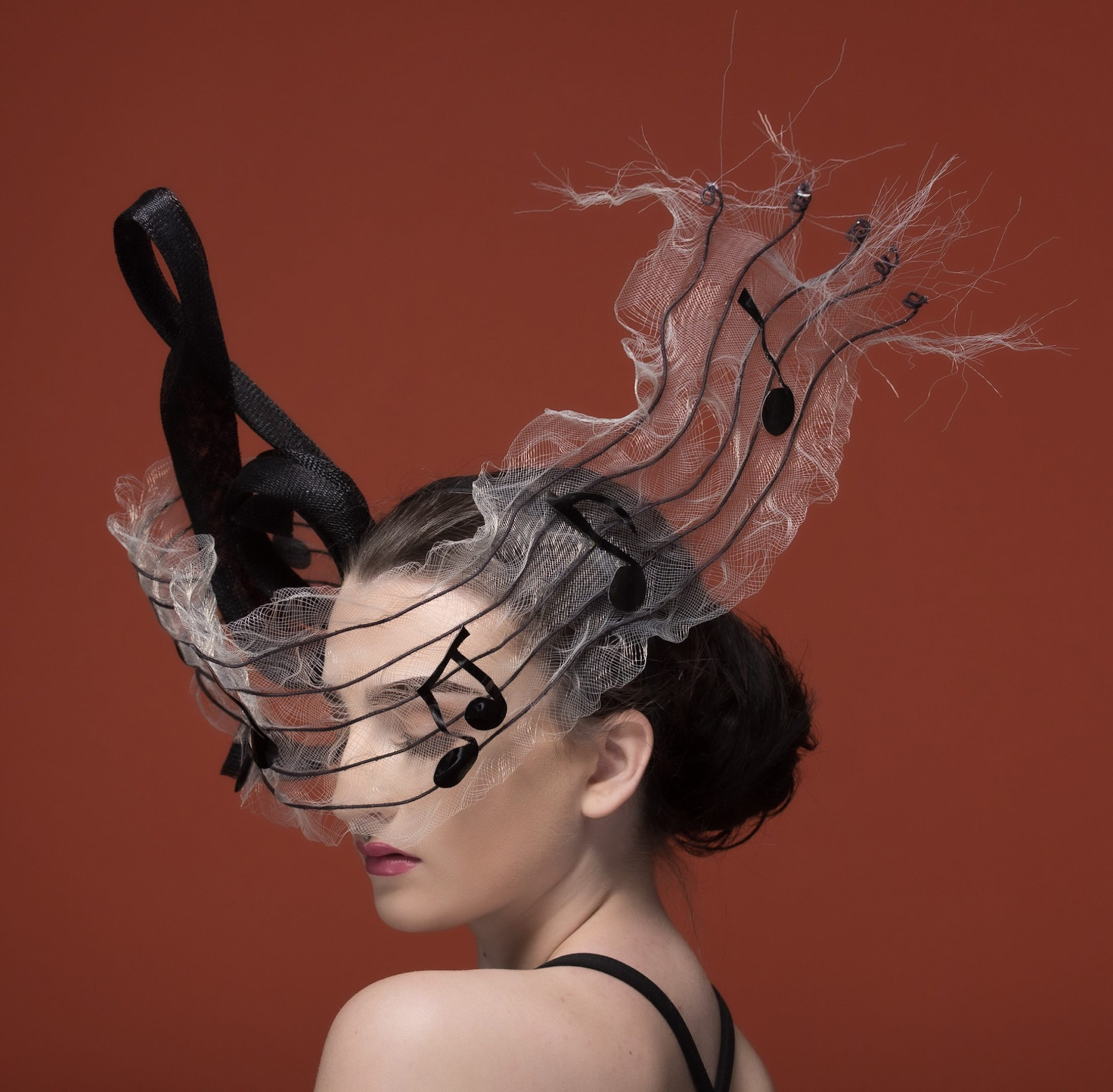 The Portrait Kitchen 'Notes' by Donna Hartley Millinery