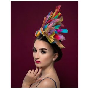 Rainbow by Amy Fowler Millinery