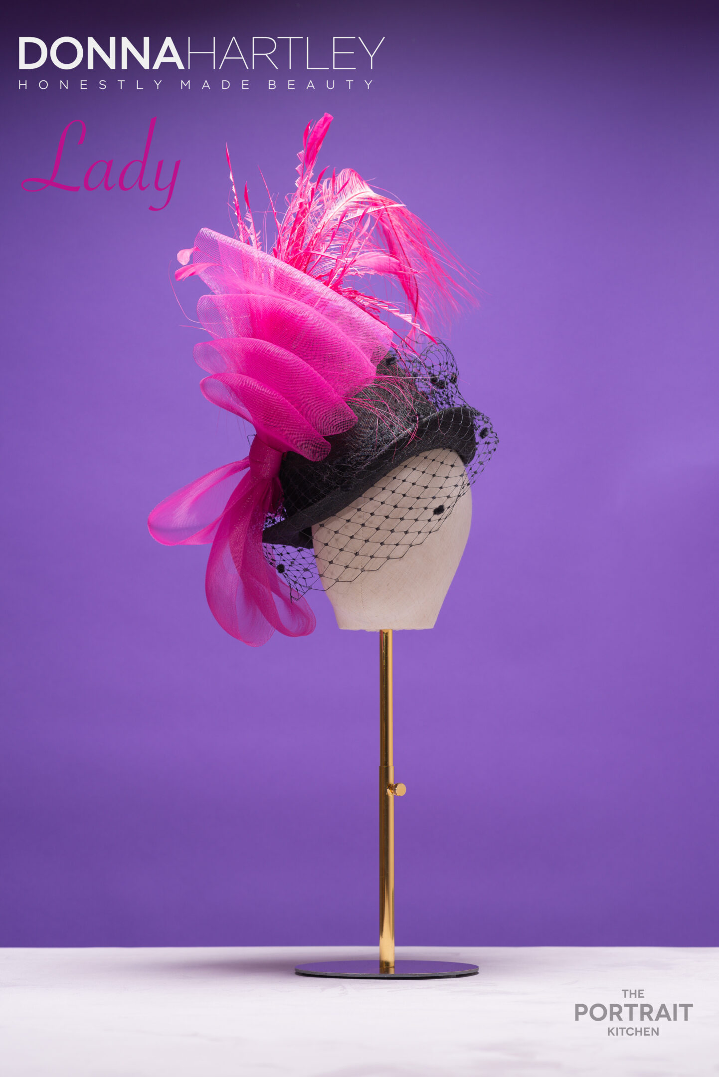 Donna Hartley Millinery - Lady