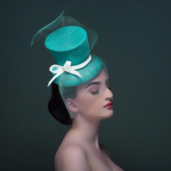 Mist by Donna Hartley Millinery