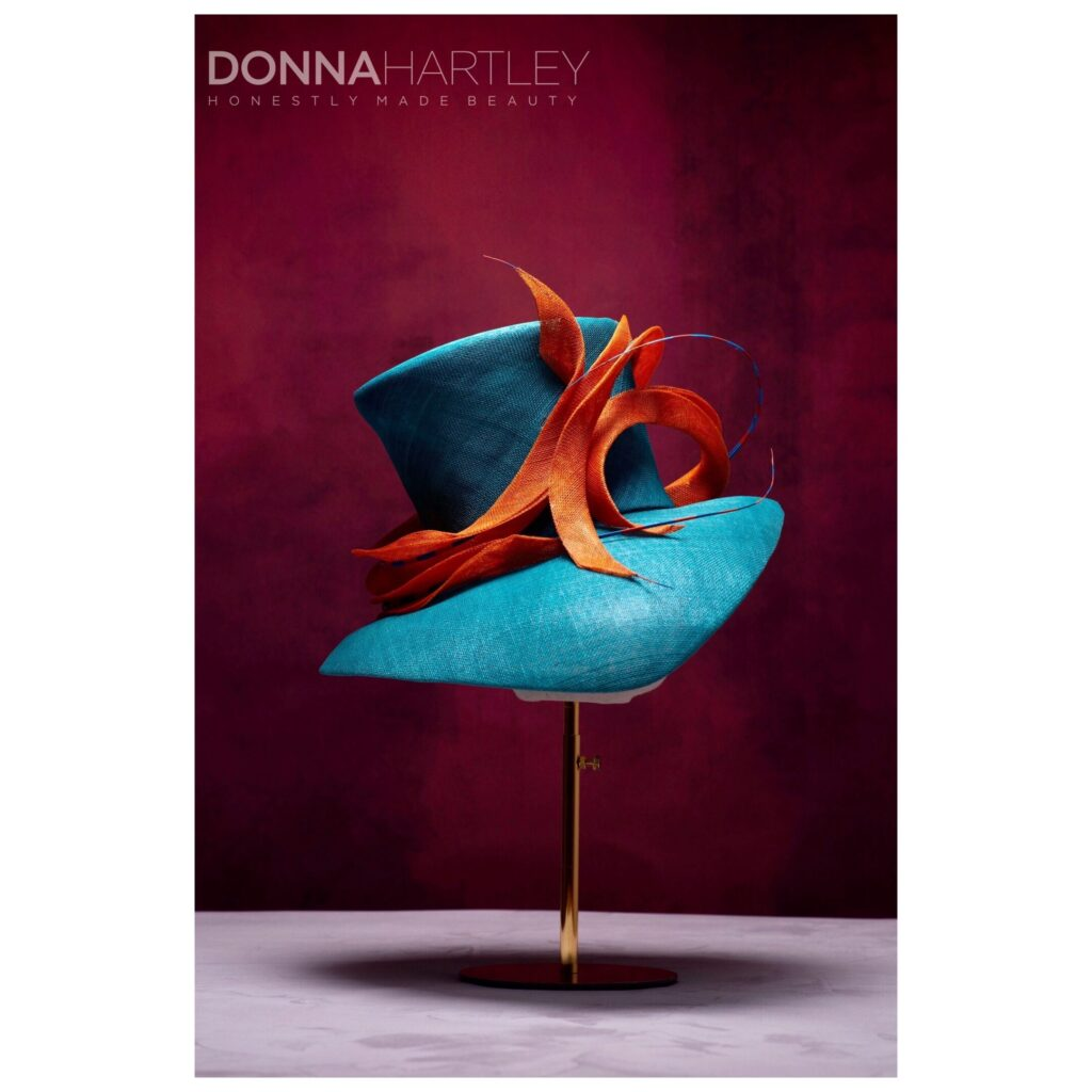 Mardi Gras by Donna Hartley Millinery