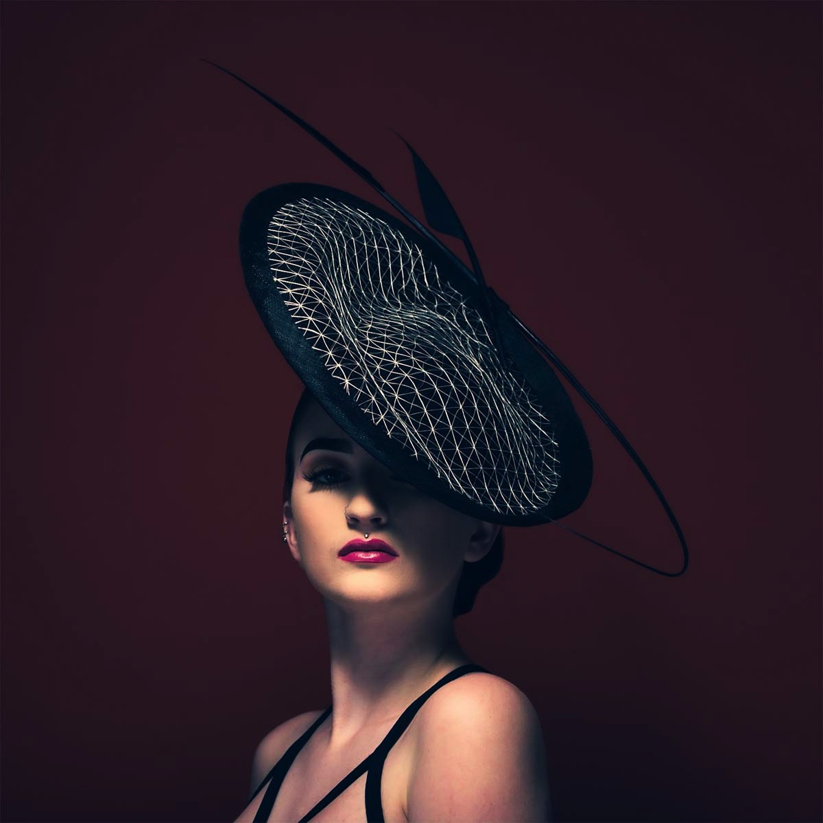 The Portrait Kitchen 'Kizzie' by Donna Hartley Millinery