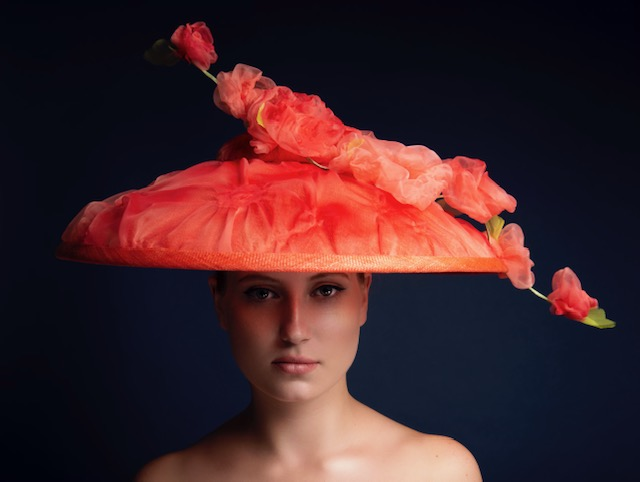 The Portrait Kitchen Norah's Bloom by Donna Hartley Millinery