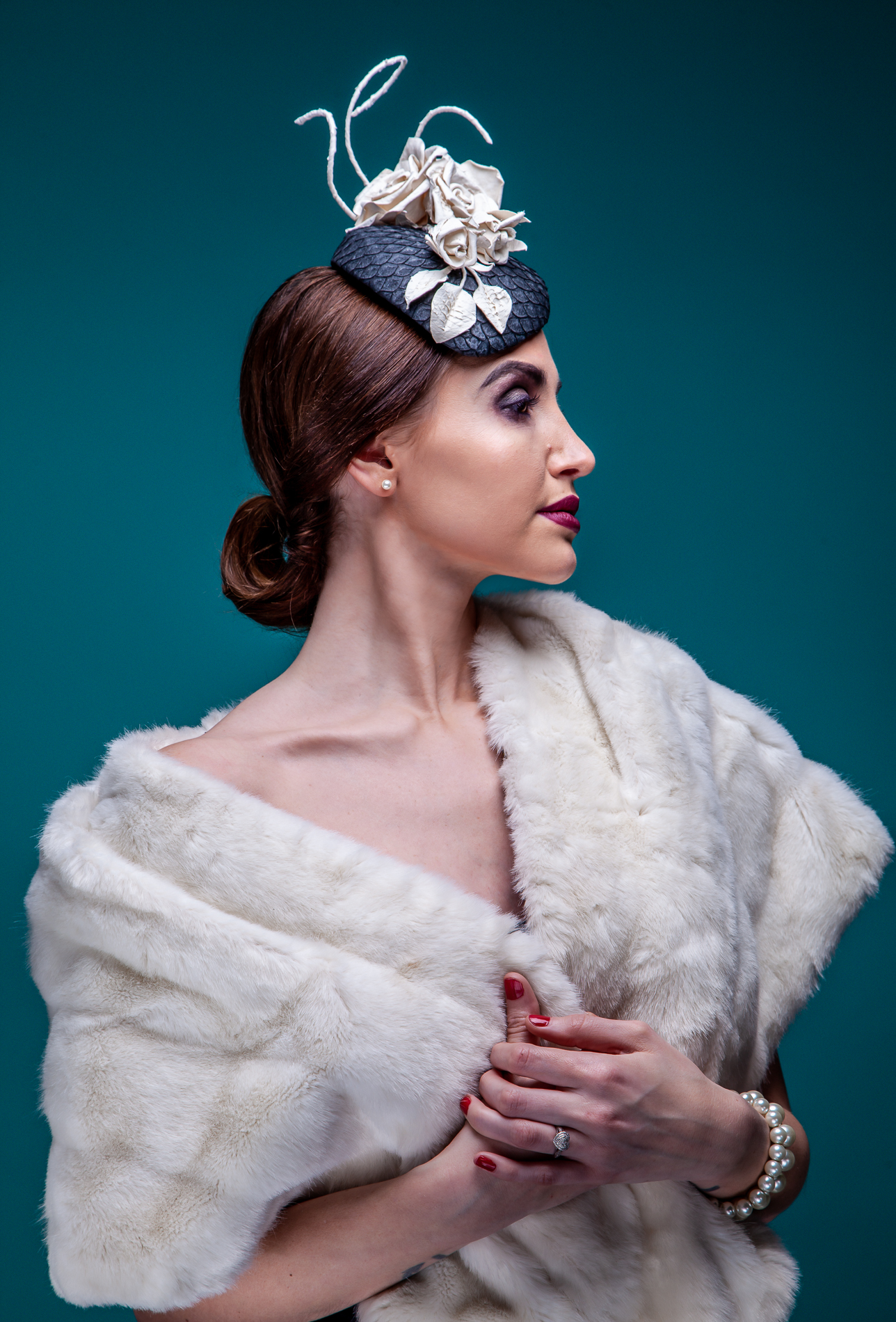 The Portrait Kitchen Blanche by Jane Fryers Millinery