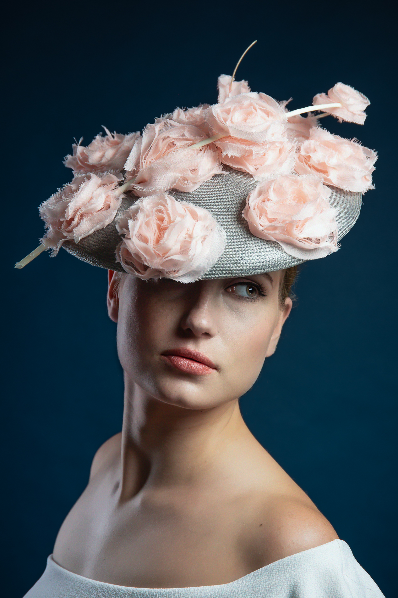 The Portrait Kitchen Blossom by Donna Hartley Millinery
