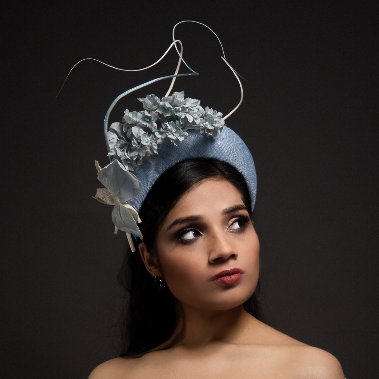 The Portrait Kitchen 'Blue Sky' by Sarah Ross Millinery