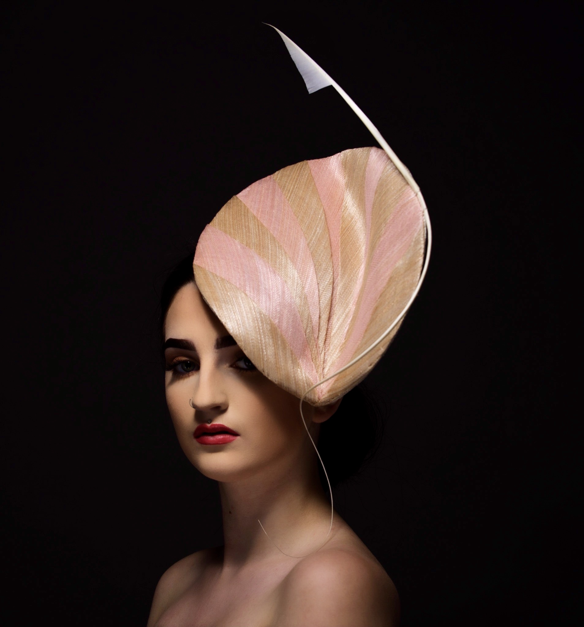The Portrait Kitchen 'Mini Lanza' by Donna Hartley Millinery